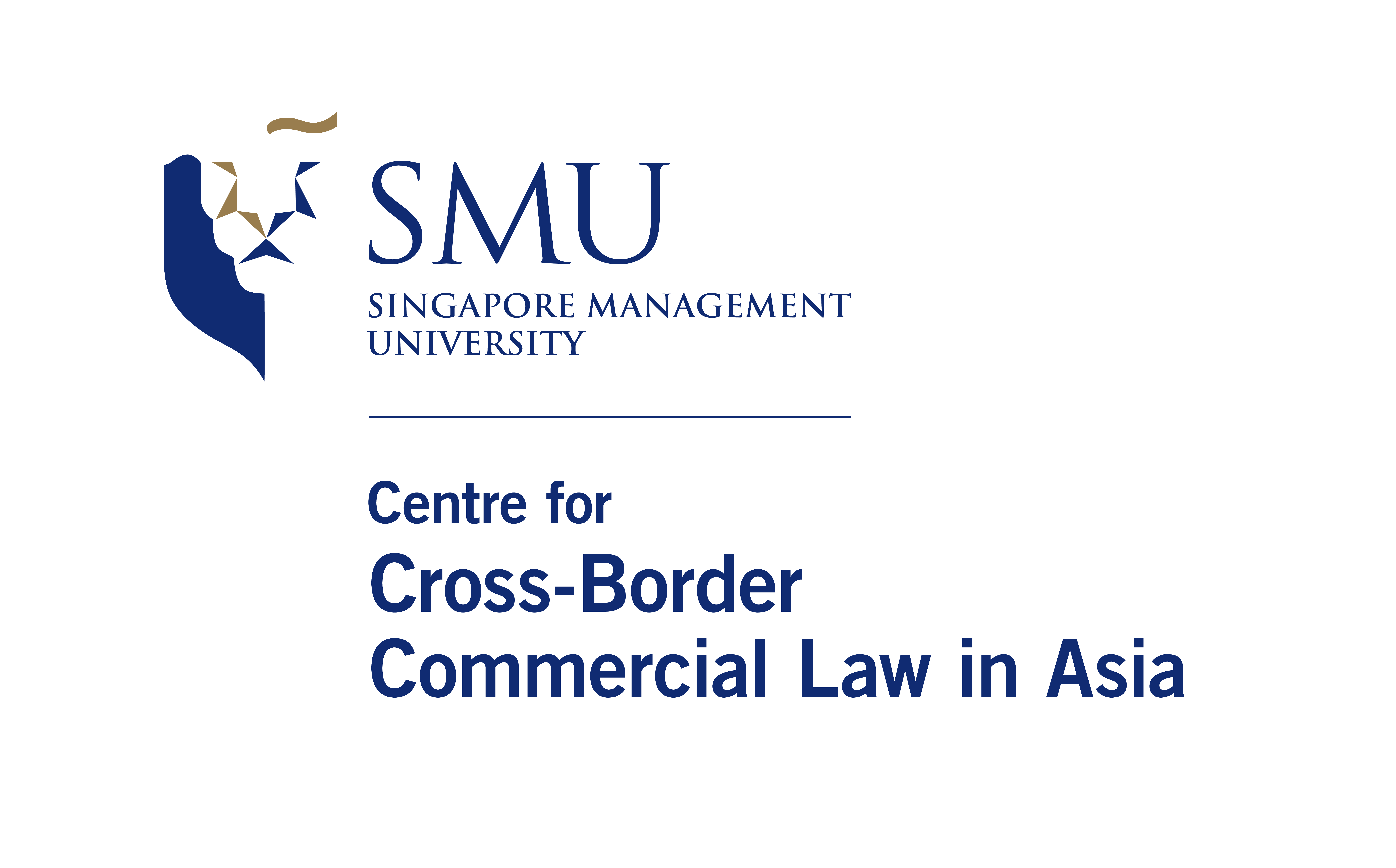 SMU Centre for Cross Border Commercial Law in Asia logo V